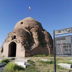 گنبد بزرگ آجری مهرآباد